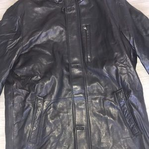 Saks Fifth Avenue Jackets & Coats - Saks Fifth Avenue Leather Jacket